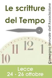 Convegno 2007 Lecce - Le scritture del tempo