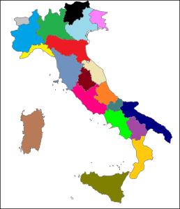 Mappa Italia piena